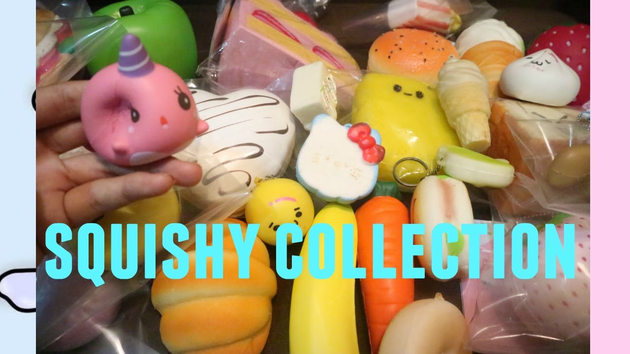 Squishy Collection 2016 : SQUISHY COLLECTION 2016 !!! - YouTube