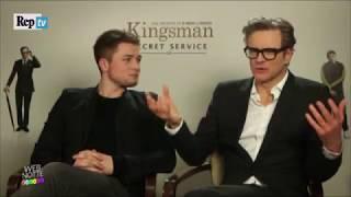 Colin Firth,Taron Egerton Share Their Music Preferences/Italian Subtitles