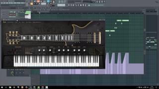 Ample Sound AME2 - Как рисовать бенды (Pitch Bend) в FL Studio [видеоответ]