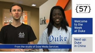 The Week At Duke {in 60 Seconds}: Dku Approval; Fertile Fungi; Fort Duke