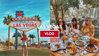 A GIRLS TRIP TO VEGAS VLOG // BELLAGIO, MAGIC MOUNTAINS - WHAT TO DO IN LAS VEGAS | Scarlett London