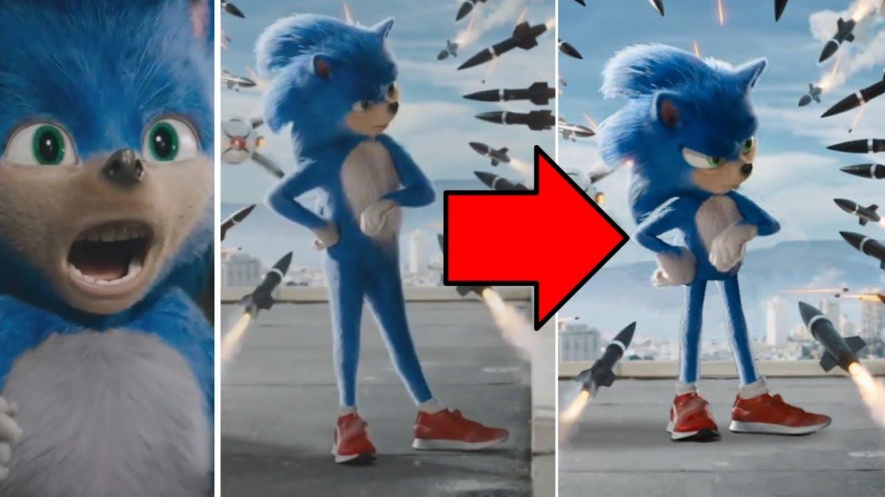 Sonic Así Debió Ser El Diseño De Sonic En La Nueva
