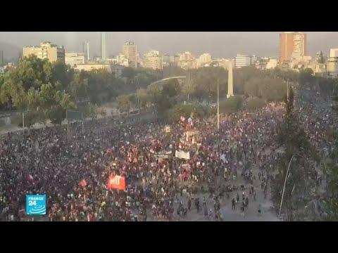 احتجاجات تشيلي التي فجرها رفع الأسعار دخلت شهرها الثاني  - نشر قبل 3 ساعة
