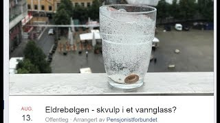 Eldrebølgen - skvulp i et vannglass?