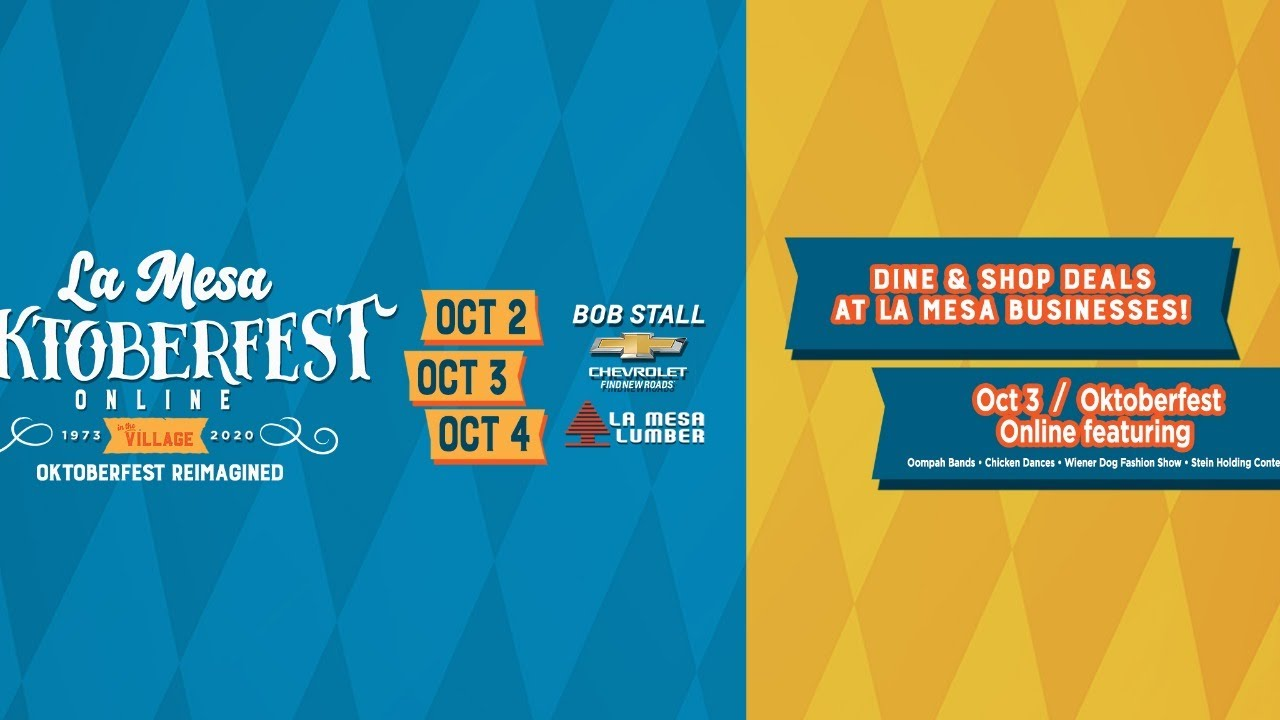 La Mesa Oktoberfest Online