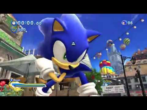 Sonic Generations Xbox One Backwards Compatibility Gameplay Youtube
