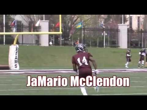 Football Senior Spotlight: JaMario McClendon