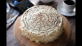 Торт Эстерхази Рецепт. Вкусный Миндальный Торт Эстерхази . Esterhazy Cake