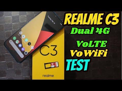 [Hindi]Realme C3 Dual 4G VOLTE Test|| VoWiFi Test With Airtel & Jio Sim