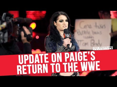 Update On Paige Returning To The WWE