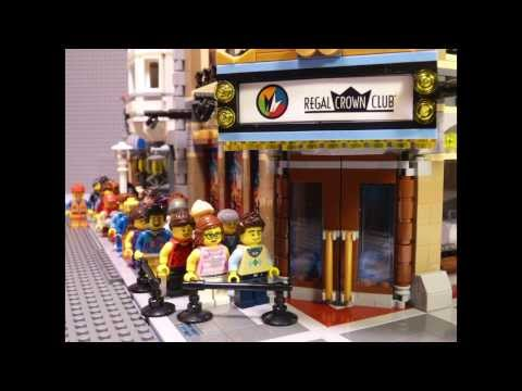 Emmet Goes to The LEGO Movie Premiere! Episode 1 :: The LEGO Movie Comes to Regal Movies
