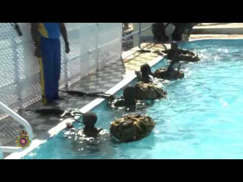 Jamaica Defence Force  - Swimming at the JDF