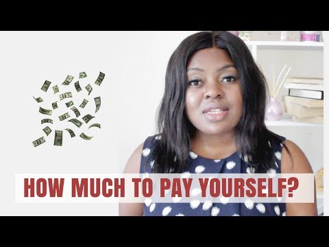 How Much Should I Pay Myself As A Business Owner Entrepreneur LLC