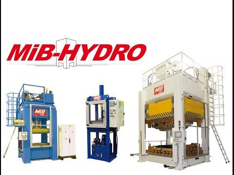 Presses hydrauliques MIB Hydro