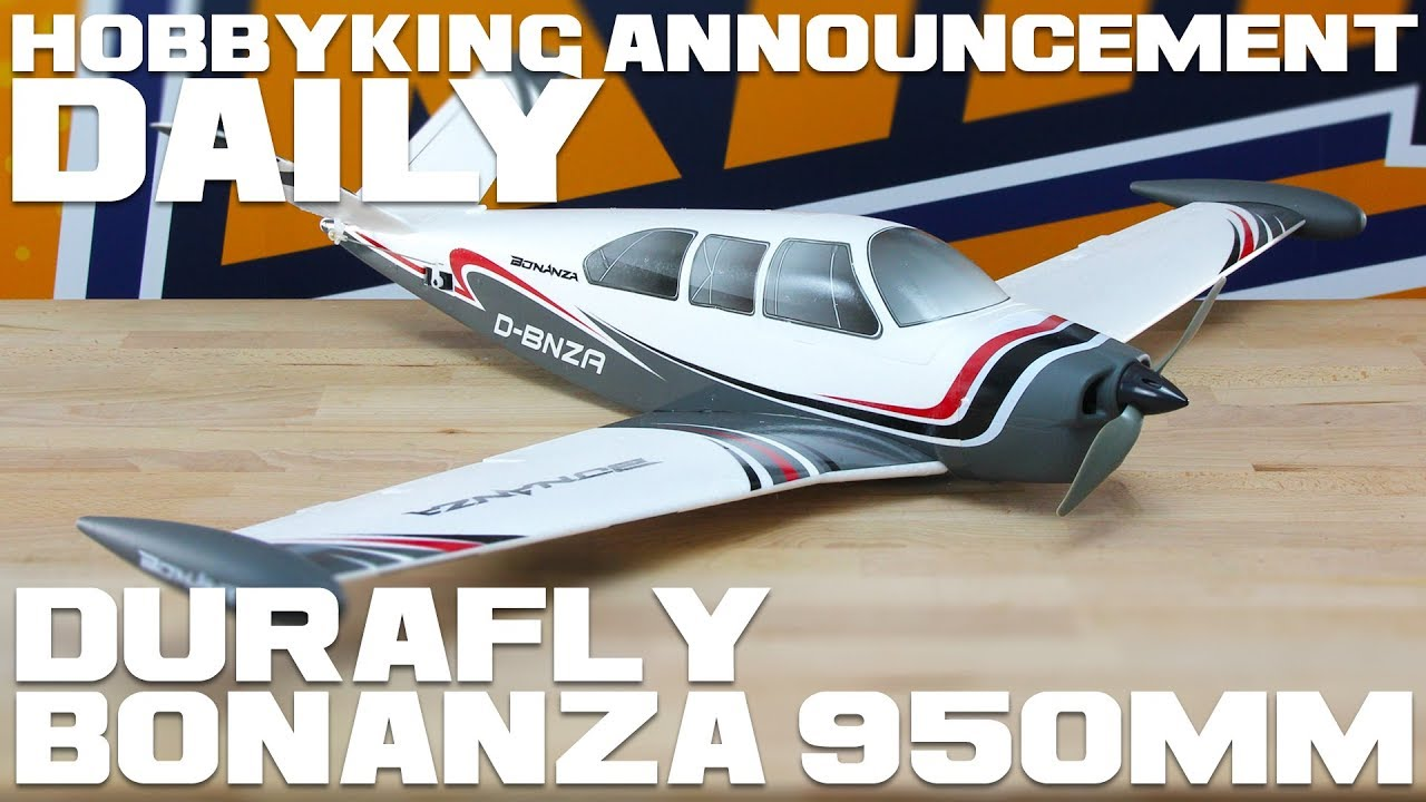 New Product Durafly 950mm V-Tail Bonanza - RC Groups