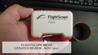 UPDATED REVIEW: FlightScope Mevo launch monitor