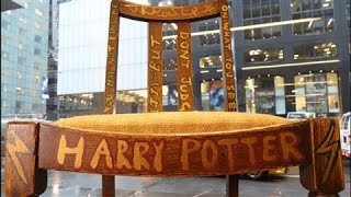 Harry Potter Author's Chair Sells for $394,000