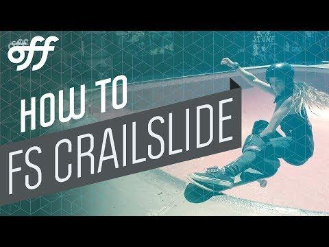 FS Crailslide - Manobras de Skate - Canal Off
