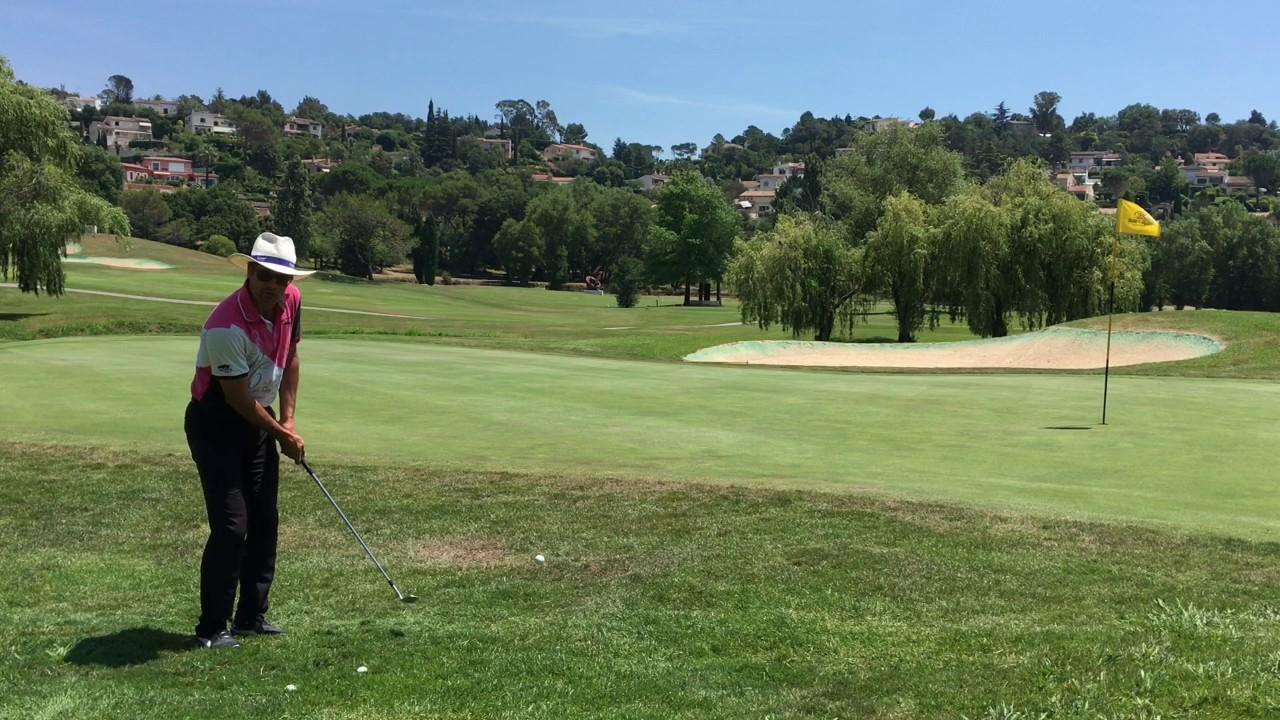 Golf Technique - Approche rough bord de green