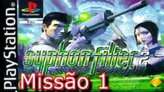 Detonado Syphon Filter 2 (PS1) - Missão 1 - Montanhas do Colorado - (Gameplay Comentado PT-BR)