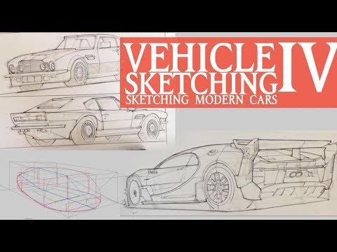 VEHICLE SKETCHING IV: Sketching Modern Cars