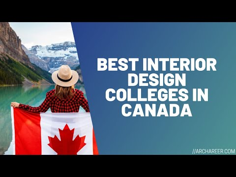 Best Interior Design Colleges In Canada Archareer Youtube