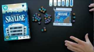 Skyline Dice Game - How To Play