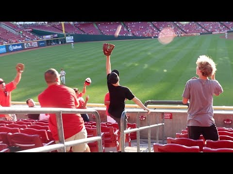 Catching A Joey Votto GAME HOME RUN At Great American Ball Park