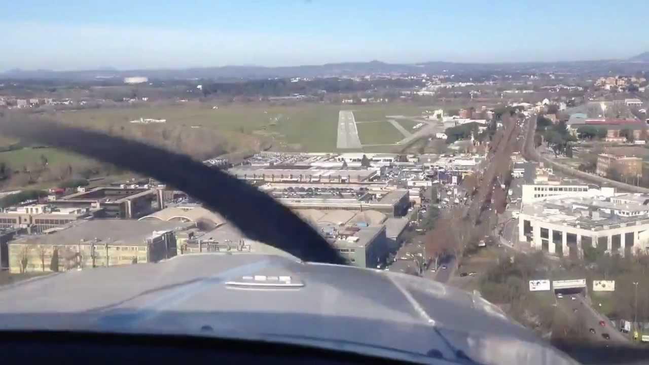 Aeroporto Urbe : Partenavia p c touch n go aeroporto urbe rw youtube