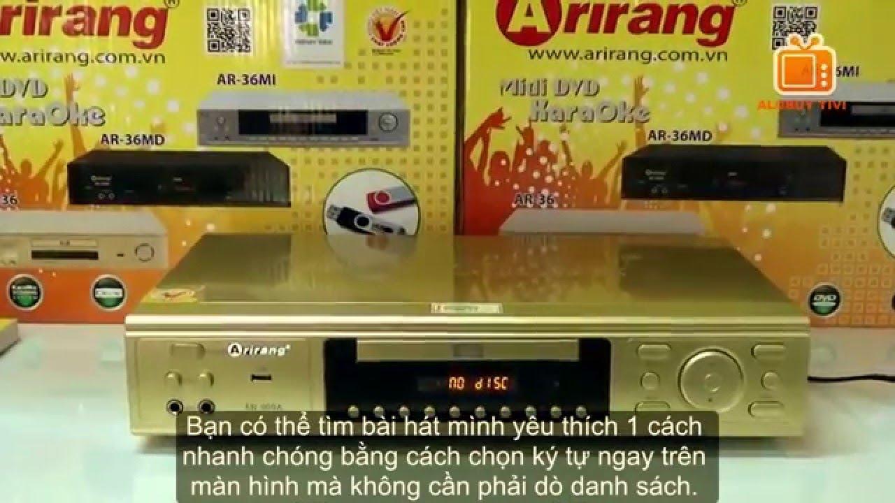 Đầu karaoke Arirang AR-909A giá rẻ l Đầu Karaoke 5 số