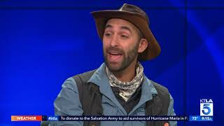 "Coyote Peterson Talks Dangerous Bites on ""Brave Wilderness"""