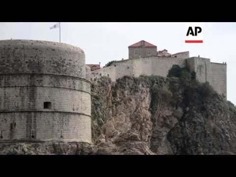 Behind The Scenes On The Set Of 'Game Of Thrones' In Dubrovnik