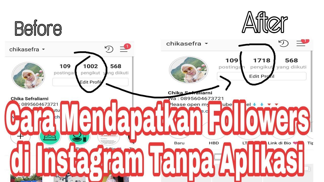 Cara Menambahkan Followers Instagram Tanpa Aplikasi Youtube