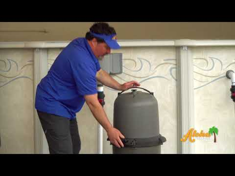 Above Ground Pool Cleaning Cartridge Filter 042518