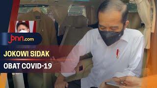 Momen Menegangkan Jokowi Sidak Apotek di Bogor