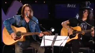 Slash e Myles Kennedy -  Starlight -                    (  Acoustic)