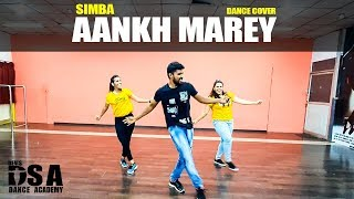 SIMMBA: Aankh Marey | Ranveer Singh | DSA Dance Company | Madhan Chroeography
