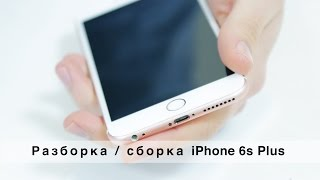 видео Ремонт iPhone 6s Plus