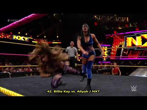 Billie Kay / Jessie McKay - All Hurricanrana, Shades Of Kay & Eat Defeat - 2019 Moves