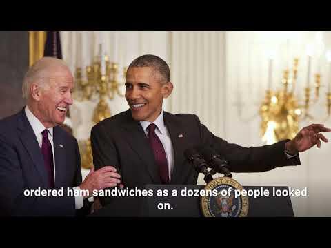 Barack Obama and Joe Biden reunited for lunch