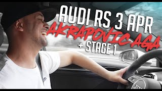 JP Performance - Audi RS3 APR Akrapovic AGA + Stage 1