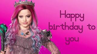 Happy Birthday Lyrics ~ Sarah Jeffery