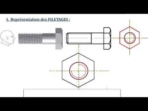 Les Filetages & Taraudages (cours animé: pptx)