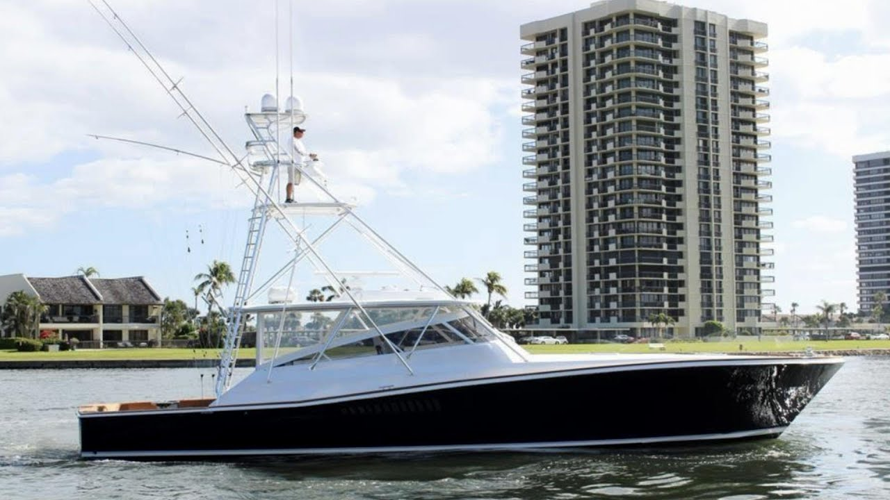 1990 Viking Yachts 53' Express HOOK - For Sale with HMY Yachts