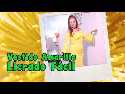 bbe5e86b7 Fácil aprenda a hacer un Maxi Vestido cruzado Omaira tv- - Action ...