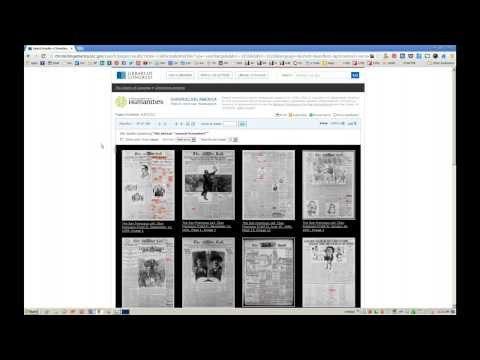 How to Use Chronicling America - Part 3 - Finding Articles