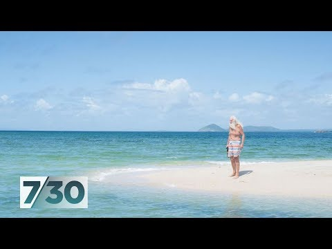 The former millionaire who found 'heaven' on a desert island | 7.30