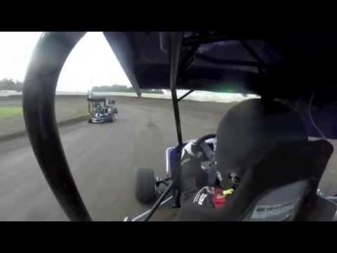 Carter Bingham Racing - July 25 2014 - English Creek Speedway Heat Race 2