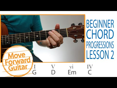 Guitar for Beginners - 5 Popular Chord Progressions - Lesson 2