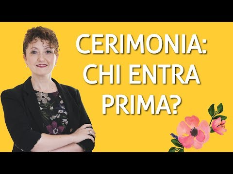 Il Corteo Nuziale: ordine di entrata e posizioni corrette - Matrimoni con l'accento - Roberta Patanè